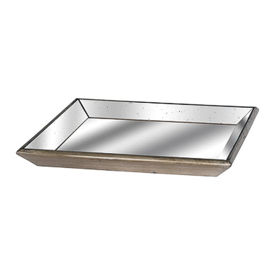 Large Square Mirrored Tray 50cmx50cm