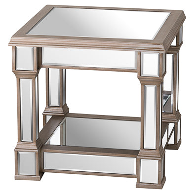 Glam Collection Square Side Table