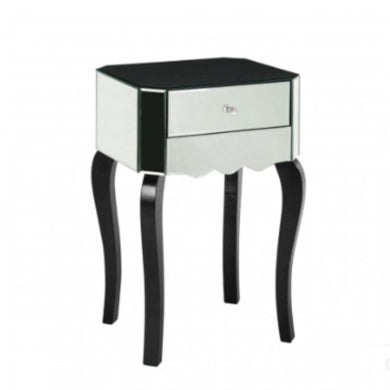 Orchid Mirrored Side Table