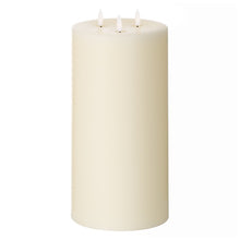 Load image into Gallery viewer, 3 wick LED candle 30cm