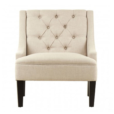 Beige Linen Molly Chair