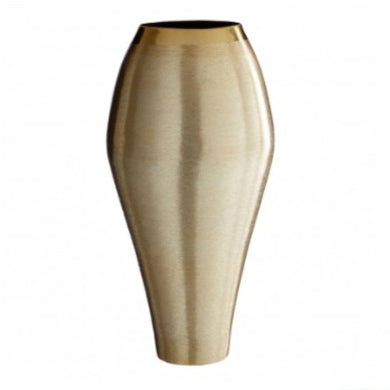 Large Gold Effect Vase 36cm
