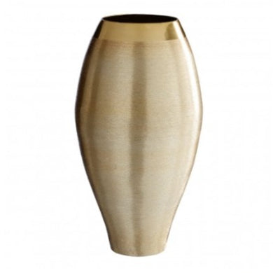 Small Gold Effect Vase 30cm