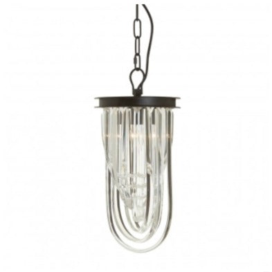 Small Crystal Pendant Light