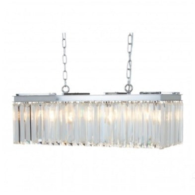 Crystal Townhouse Pendant Light
