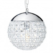 Load image into Gallery viewer, Crystal Sphere Pendant Light