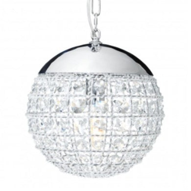 Crystal Sphere Pendant Light