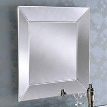 Load image into Gallery viewer, Square Bevelled Mirror 91cm x 91cm