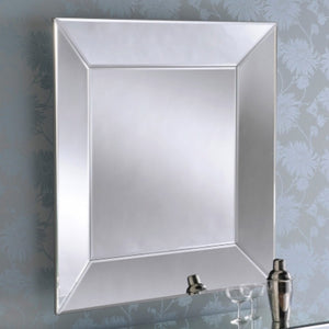 Square Bevelled Mirror 91cm x 91cm