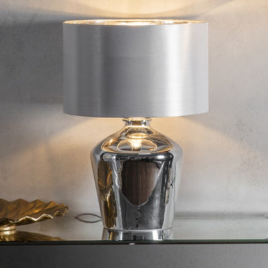 Astoria Silver Table Lamp