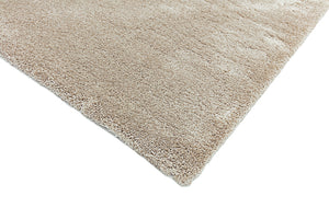 Putty Shaggy rug