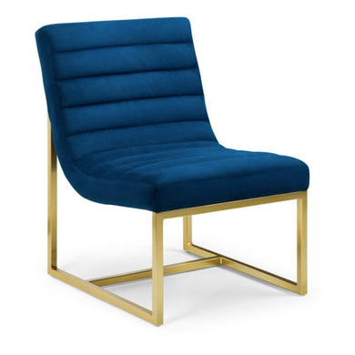 Bellagia Blue Velvet Chair