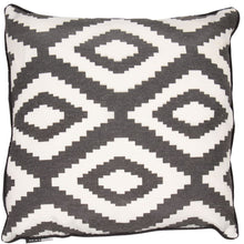 Load image into Gallery viewer, Monochrome chevron cushion