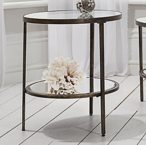 Bronze size table