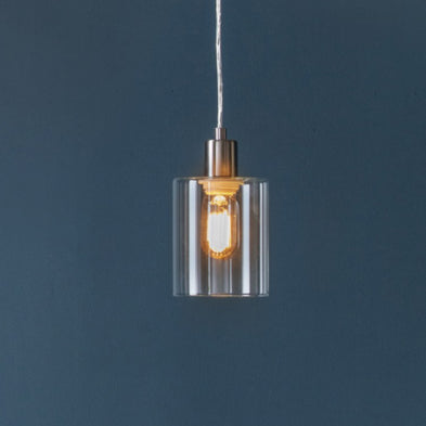 Brushed Nickel Pendant Light