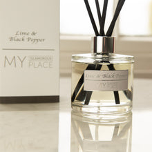 Load image into Gallery viewer, Lime & Black Pepper Reed Diffuser