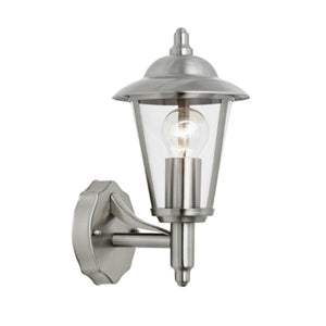 Chrome Outdoor wall lantern