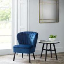 Load image into Gallery viewer, Coca Blue Occasional Chair