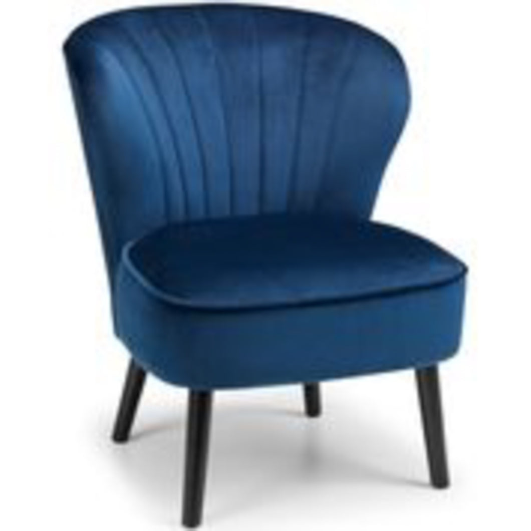 Coca Blue Occasional Chair