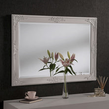 Load image into Gallery viewer, White Baroque Mirror 104cm x 74cm