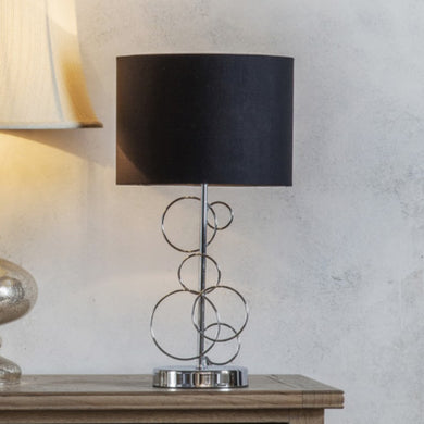Fincham Chrome Table Lamp