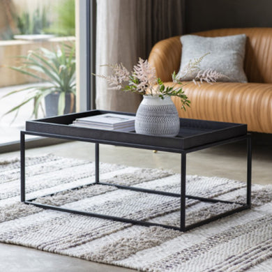 Forda Black Coffee Table