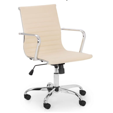 Gia Office Chair Ivory