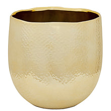 Load image into Gallery viewer, GOLD CERAMIC PLANTER