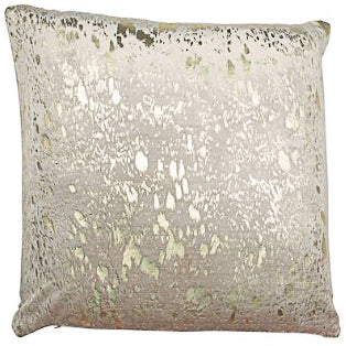 Gold Foil Print Cushion 43cm x 43cm