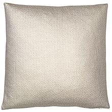 Load image into Gallery viewer, Gold Metallic Leather Weave cushion 45cm x 45cm