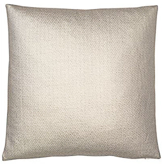 Gold Metallic Leather Weave cushion 45cm x 45cm