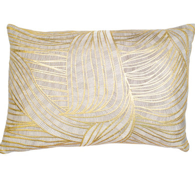 Gold Swirl Cushion 30x50cm