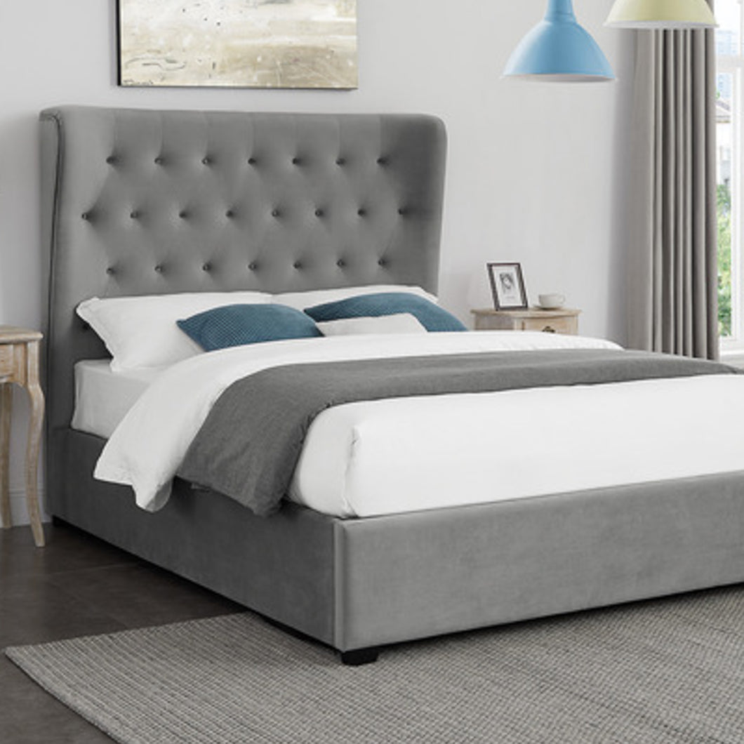 Grey Belgrave King Size Bed