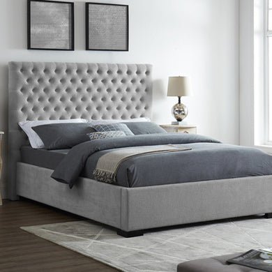 Grey Berkley King Size Bed