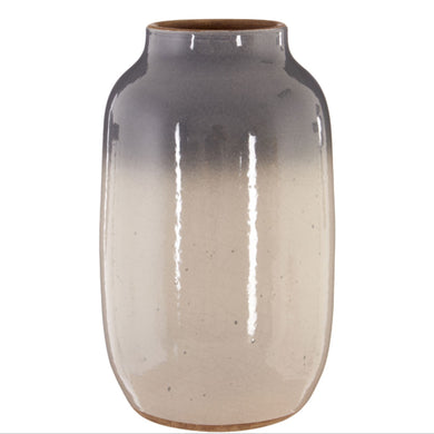 Grey Earthenware Vase 28cm