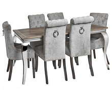 Load image into Gallery viewer, Grey Luxury Dining Chair