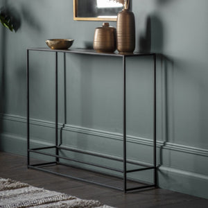 Hadstern antique silver console table