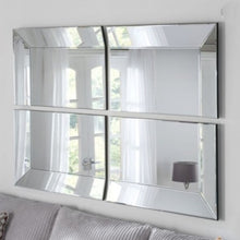 Load image into Gallery viewer, Bevelled Panel Mirror 91cm x 60cm