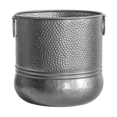 Large Silver Planter