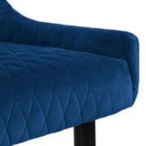 Lux Blue Dining Chair
