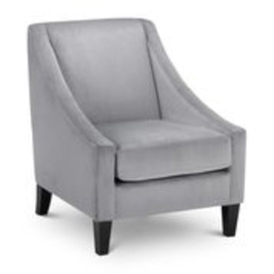 Maison Grey Velvet Chair