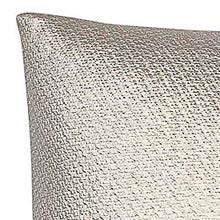 Load image into Gallery viewer, Gold metallic leather weave cushions 45cm x 45cm