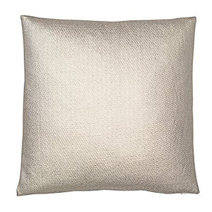 Gold metallic leather weave cushions 45cm x 45cm