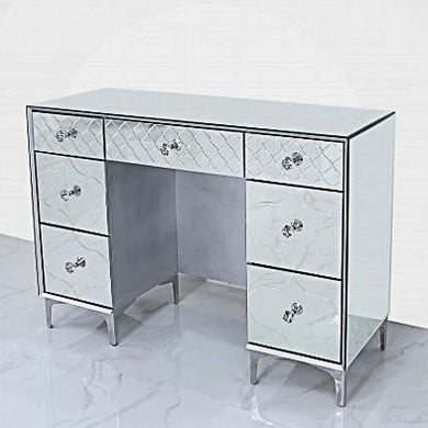 Mirror 7 drawer dressing table