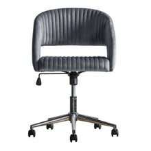 Load image into Gallery viewer, Murri Swivel Chair Grey Velvet