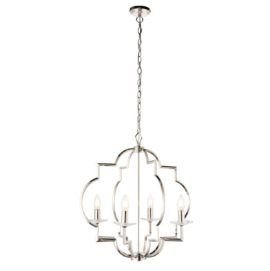 Olivia Chrome Pendant Light