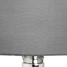 Load image into Gallery viewer, Olivia Glass Table Lamp with Grey Shade