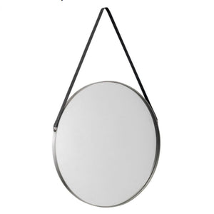 Opera Wall Mirror with Black Strap