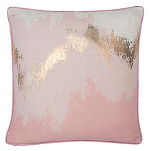 Load image into Gallery viewer, Pink and Gold Cushion