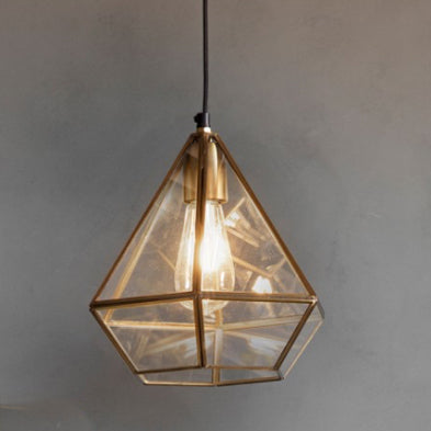 Picolo Antique Brass Pendant Light